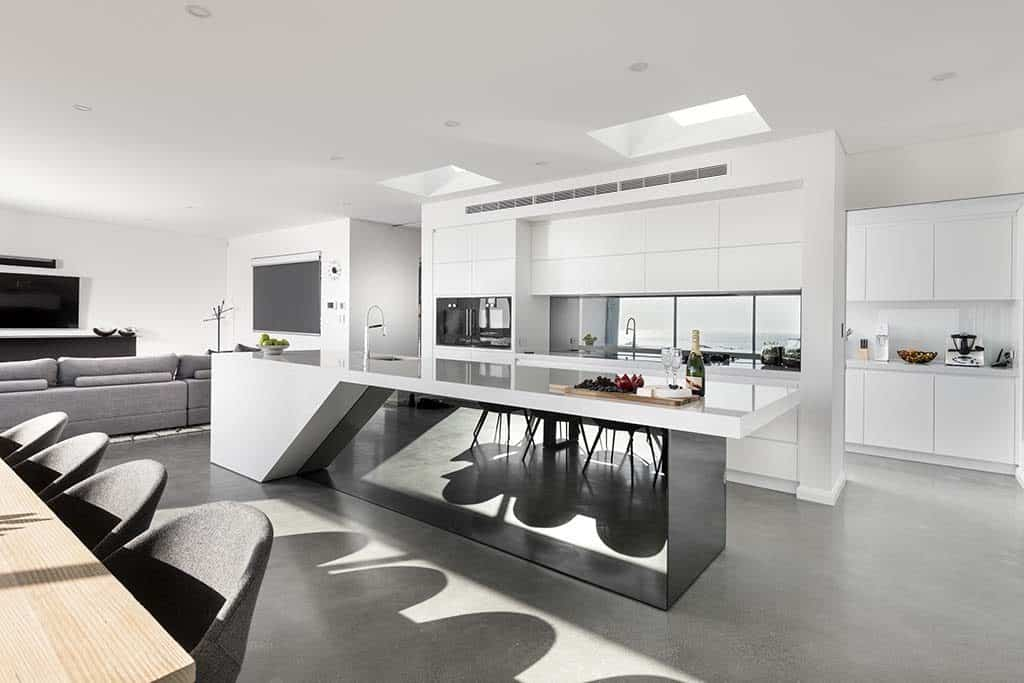 2018 HIA Kitchen Design of the Year Award Winning Project- Polished Concrete Specialists- DS Grinding