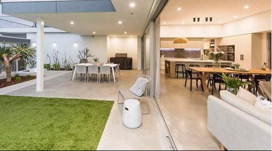 Interior and exterior decorative concrete floors- Polished Concrete Perth- DS Grinding