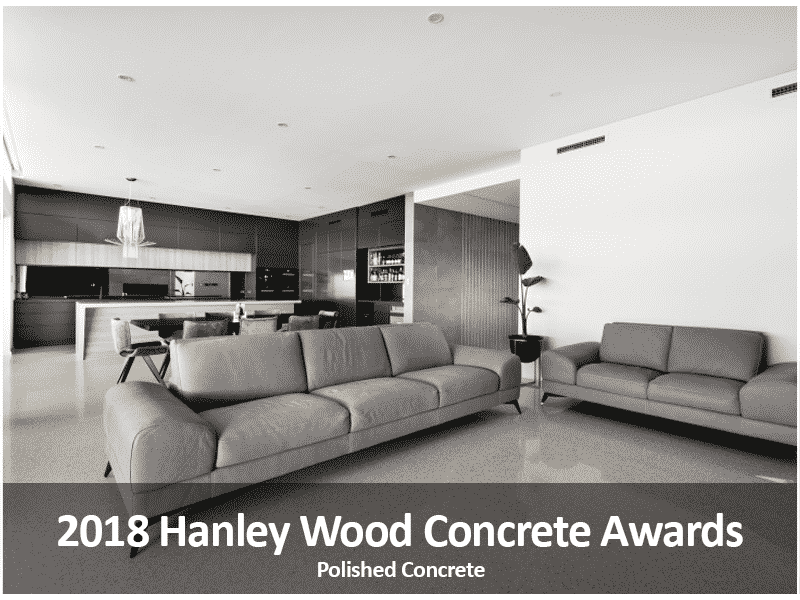 2018 Hanley Wood Concrete Award Winning Project- Polished Concrete Specialists- DS Grinding